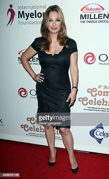 Actress Alex Meneses attends the International Myeloma Foundation's 8th Annual Comedy Celebration at the Wilshire Ebell Theatre on November 8 2014 in...