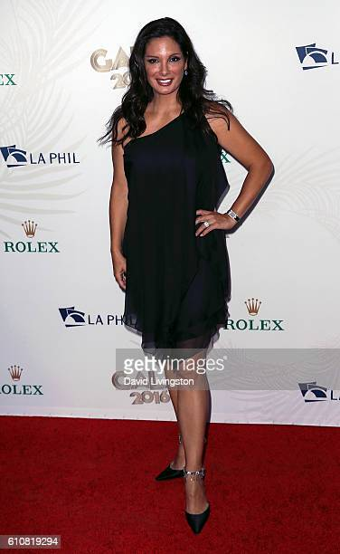Actress Alex Meneses attends the Los Angeles Philharmonic 2016/17 Opening Night Gala Gershwin and the Jazz Age at Walt Disney Concert Hall on...
