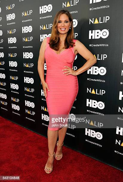 Actress Alex Meneses attends the NALIP 2016 Latino Media Awards at Dolby Theatre on June 25 2016 in Hollywood California