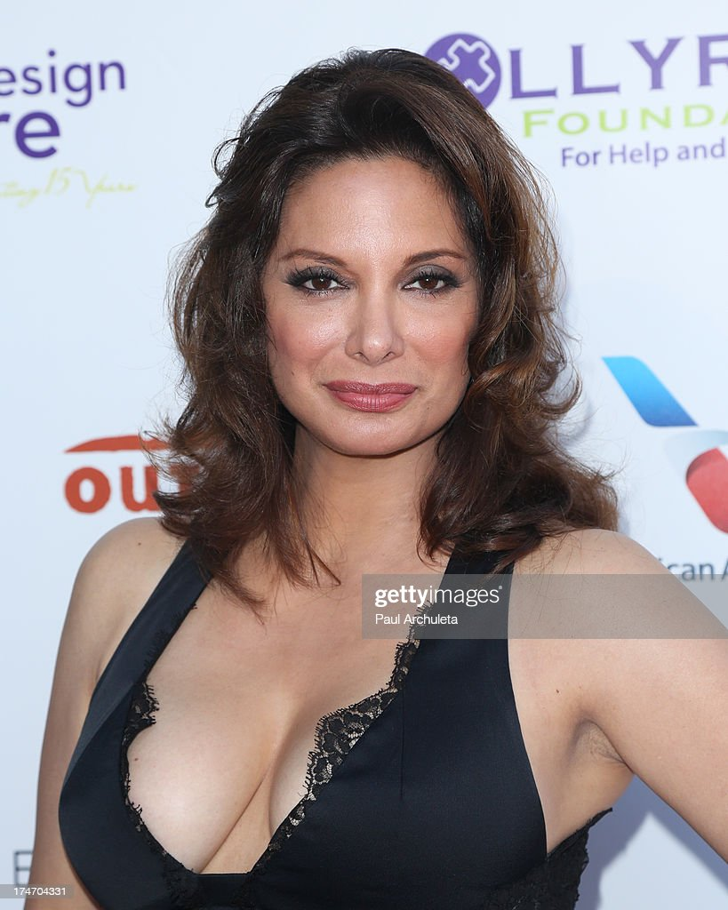 Actress Alex Menses attends the 15th annual DesignCare charity event on July 27, 2013 in Malibu, California.