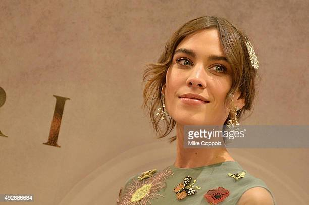 Actress Alexa Chung attends the BVLGARI ROME Eternal Inspiration Opening Night on October 14 2015 in New York City