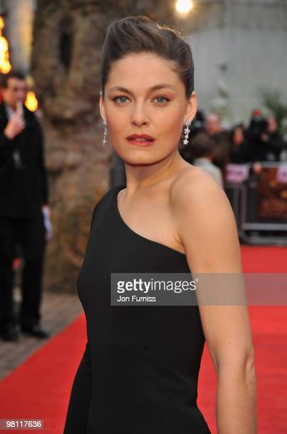 Actress Alexa Davalos attends the 'Clash Of The Titans' world premiere at the Empire Leicester Square on March 29 2010 in London England