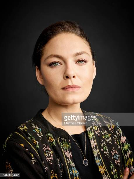 Actress Alexa Davalos from 'The Man in the High Castle' is photographed for Entertainment Weekly Magazine on July 21 2016 at Comic Con in the Hard...