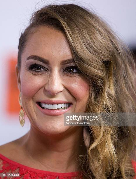 Actress Alexa PenaVega attends the premiere of Pantelion Films 'Spare Parts' at ArcLight Cinemas on January 8 2015 in Hollywood California