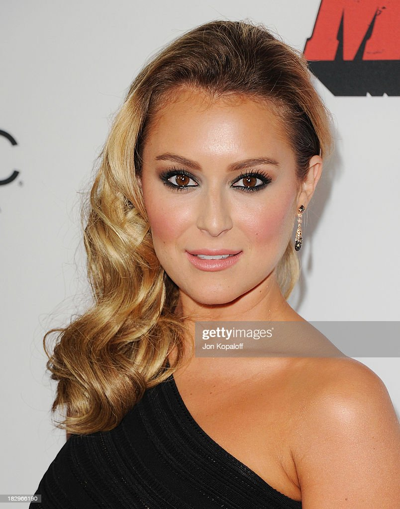 Actress Alexa Vega arrives at the Los Angeles Premiere 'Machete Kills' at Regal Cinemas L.A. Live on October 2, 2013 in Los Angeles, California.