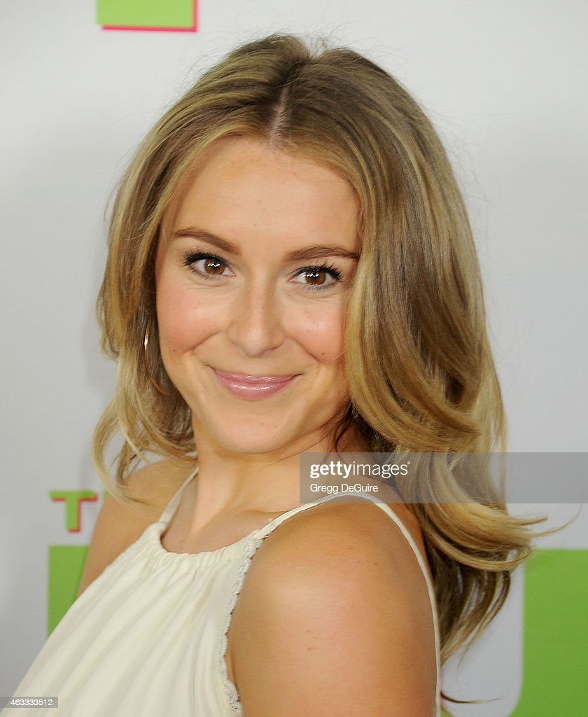 Actress Alexa Vega arrives at the Los Angeles screening of 'The Duff' at TCL Chinese 6 Theatres on February 12 2015 in Hollywood California