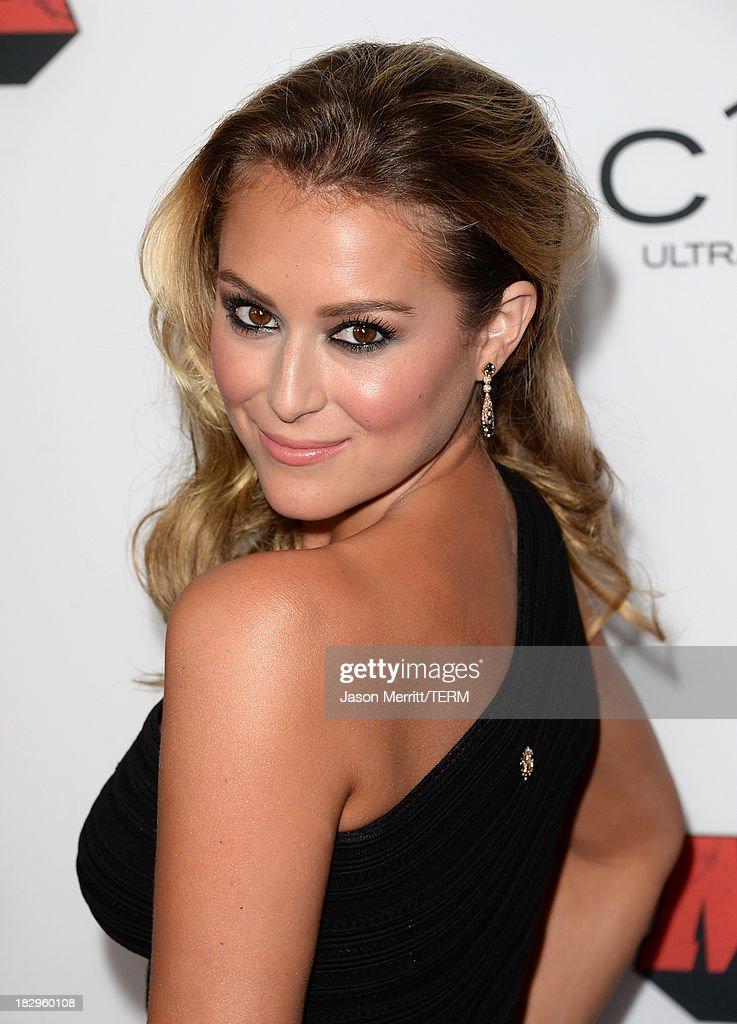 Actress Alexa Vega arrives at the premiere of Open Road Films' 'Machete Kills' at Regal Cinemas L.A. Live on October 2, 2013 in Los Angeles, California.