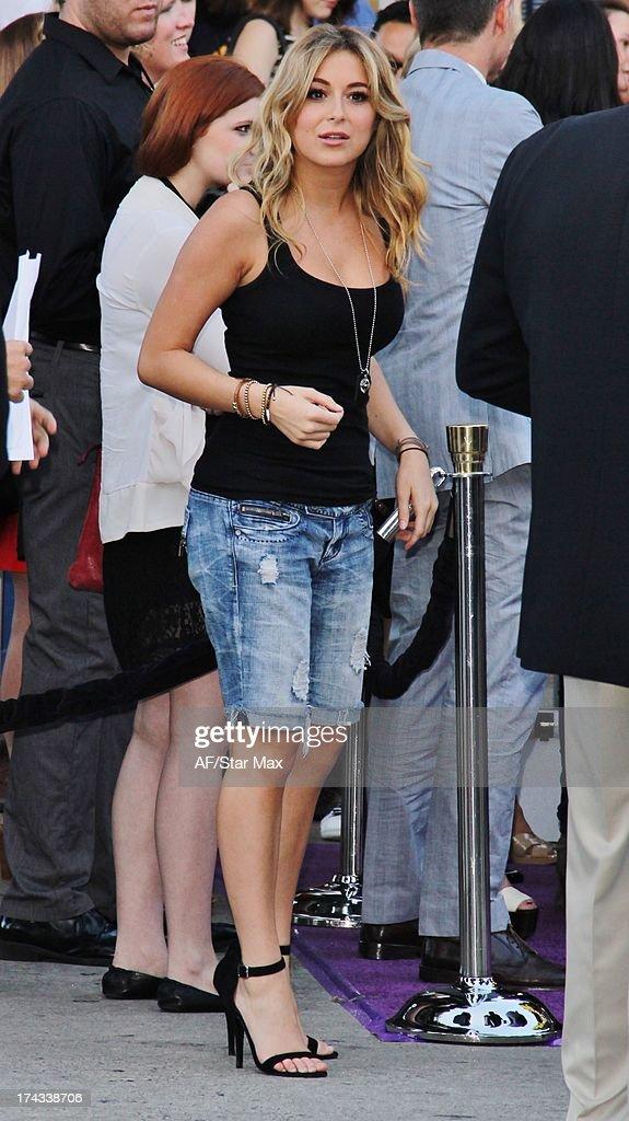 Actress Alexa Vega as seen on July 23, 2013 in Los Angeles, California.