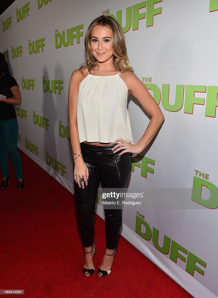 """Fan Screening Of CBS Films' """"The Duff"""" - Red Carpet"""