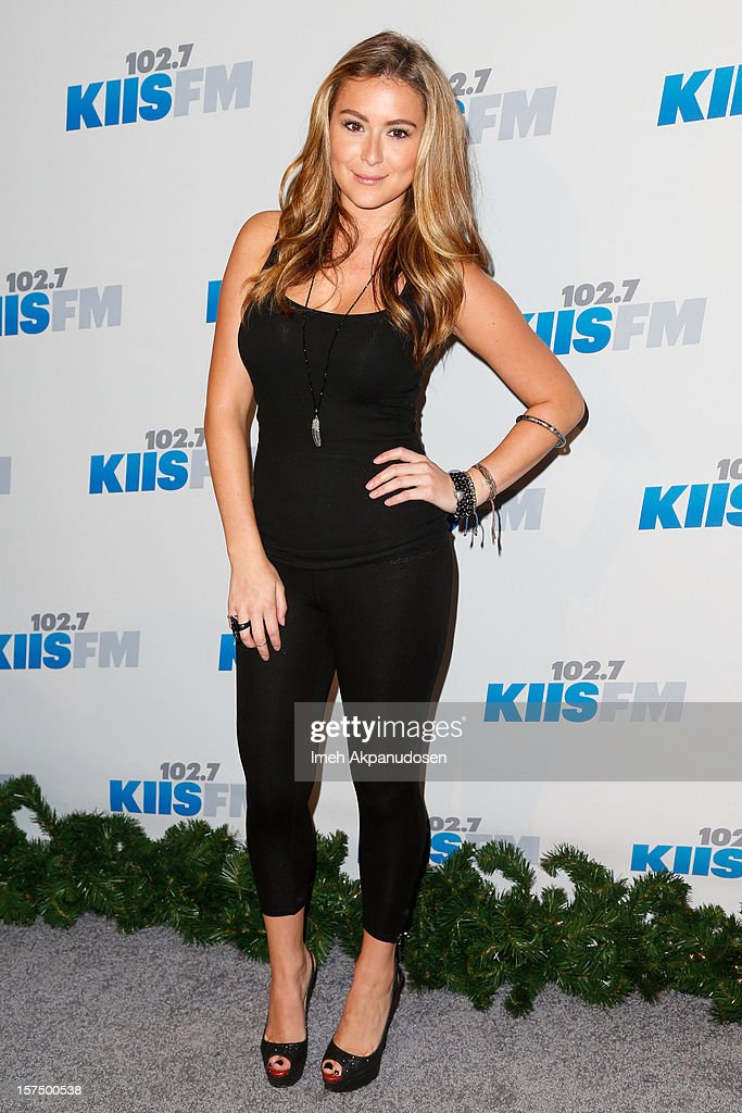 Actress Alexa Vega attends KIIS FM's 2012 Jingle Ball at Nokia Theatre L.A. Live on December 3, 2012 in Los Angeles, California.