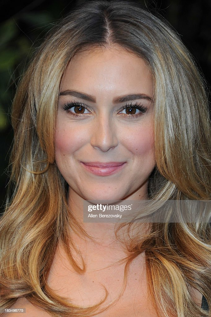 Actress Alexa Vega attends Open Road Films' 'Machete Kills' press conference at Four Seasons Hotel Los Angeles at Beverly Hills on October 6, 2013 in Beverly Hills, California.