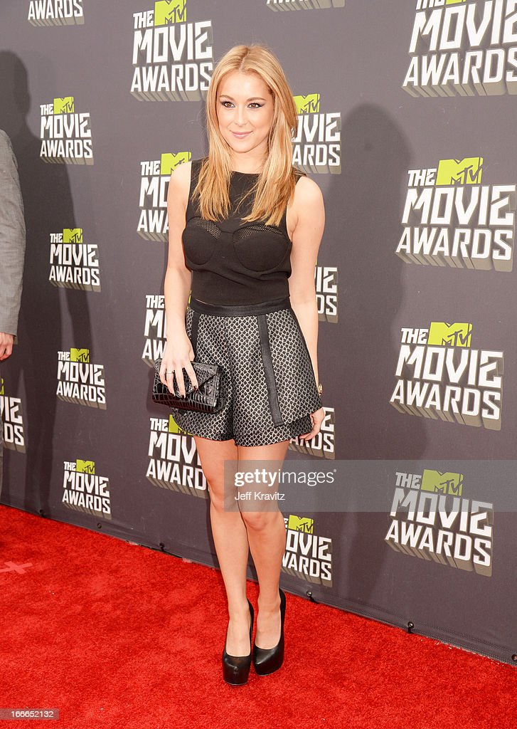Actress Alexa Vega attends the 2013 MTV Movie Awards at Sony Pictures Studios on April 14, 2013 in Culver City, California.