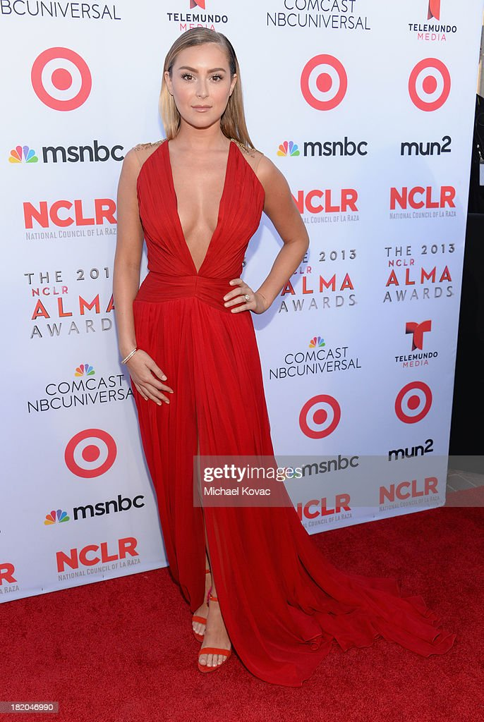 Actress Alexa Vega attends the 2013 NCLR ALMA Awards at Pasadena Civic Auditorium on September 27 2013 in Pasadena California