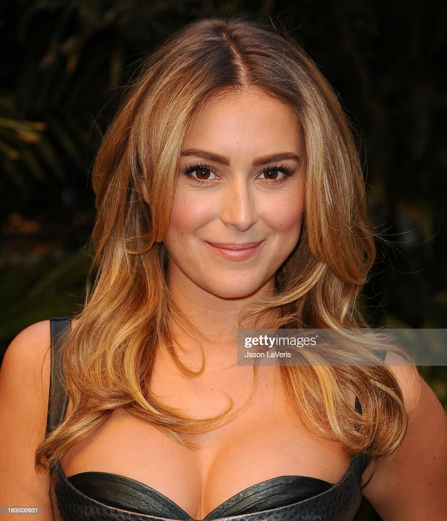 Actress Alexa Vega attends the 'Machete Kills' press conference at Four Seasons Hotel Los Angeles at Beverly Hills on October 6, 2013 in Beverly Hills, California.