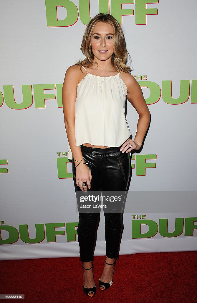 Actress Alexa Vega attends the premiere of 'The Duff' at TCL Chinese 6 Theatres on February 12 2015 in Hollywood California