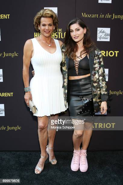Actress Alexandra Billings and Trace Lysette attend as SAKS FIFTH AVENUE celebrates potential EMMY nominees on June 22 2017 in New York City