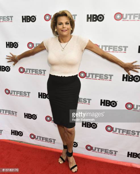 Actress Alexandra Billings attends the 2017 Outfest Los Angeles LGBT Film Festival screening of Amazon's 'Transparent' Season 4 at Director's Guild...