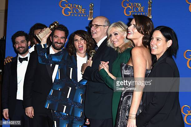 Actress Alexandra Billings writer/producer/director Jill Soloway actors Jay Duplass Jeffrey Tambor Judith Light Amy Landecker and coExecutive...