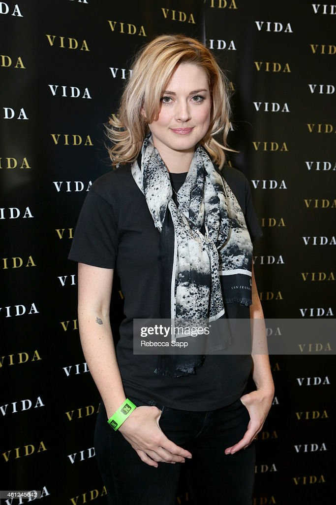 Actress Alexandra Breckenridge attends Kari Feinstein's Pre-Golden Globes Style Lounge at the Andaz West Hollywood on January 9, 2015 in West Hollywood, California.