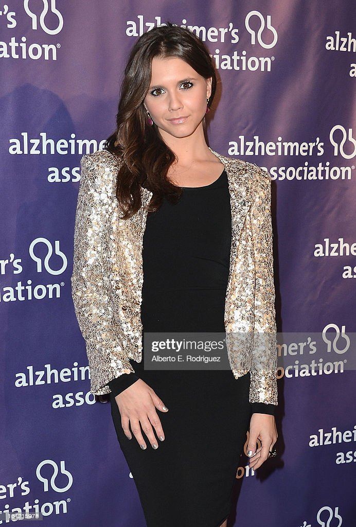 Actress Alexandra Chando arrives at 21st Annual 'A Night At Sardi's' gala benefiting the Alzheimer's Association - Arrivals at The Beverly Hilton Hotel on March 20, 2013 in Beverly Hills, California.