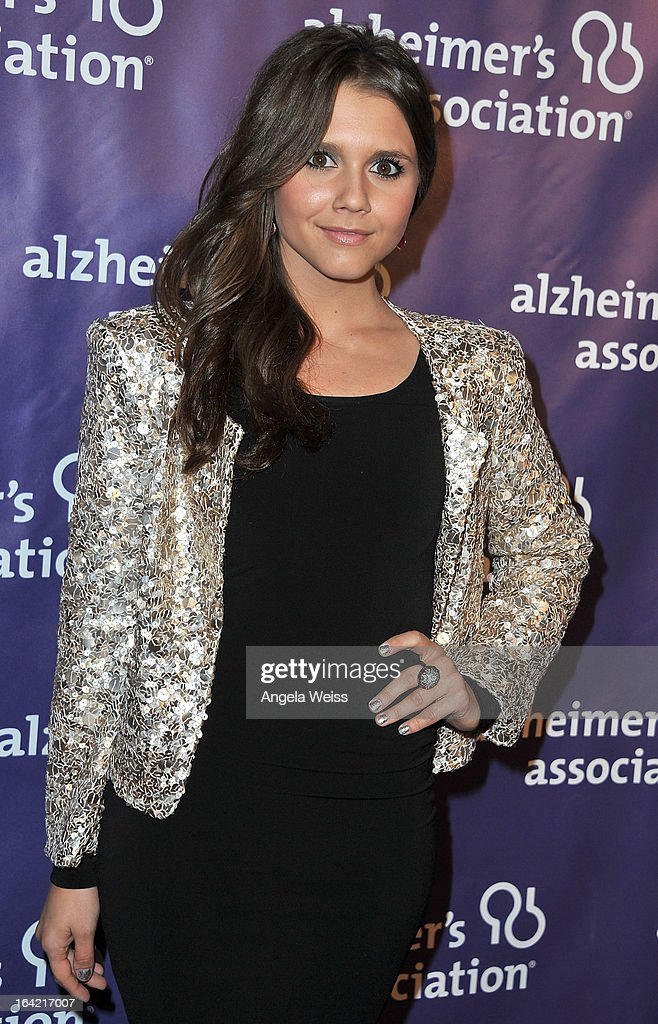 Actress Alexandra Chando arrives at the 21st Annual 'A Night At Sardi's' to benefit the Alzheimer's Association at The Beverly Hilton Hotel on March 20, 2013 in Beverly Hills, California.