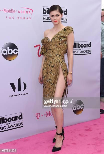 Actress Alexandra Daddario arrives at the 2017 Billboard Music Awards at TMobile Arena on May 21 2017 in Las Vegas Nevada