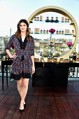 Actress Alexandra Daddario arrives at the Viva La Juicy Gold Couture Launch With Alexandra Daddario at The London Hotel on August 26 2014 in West...