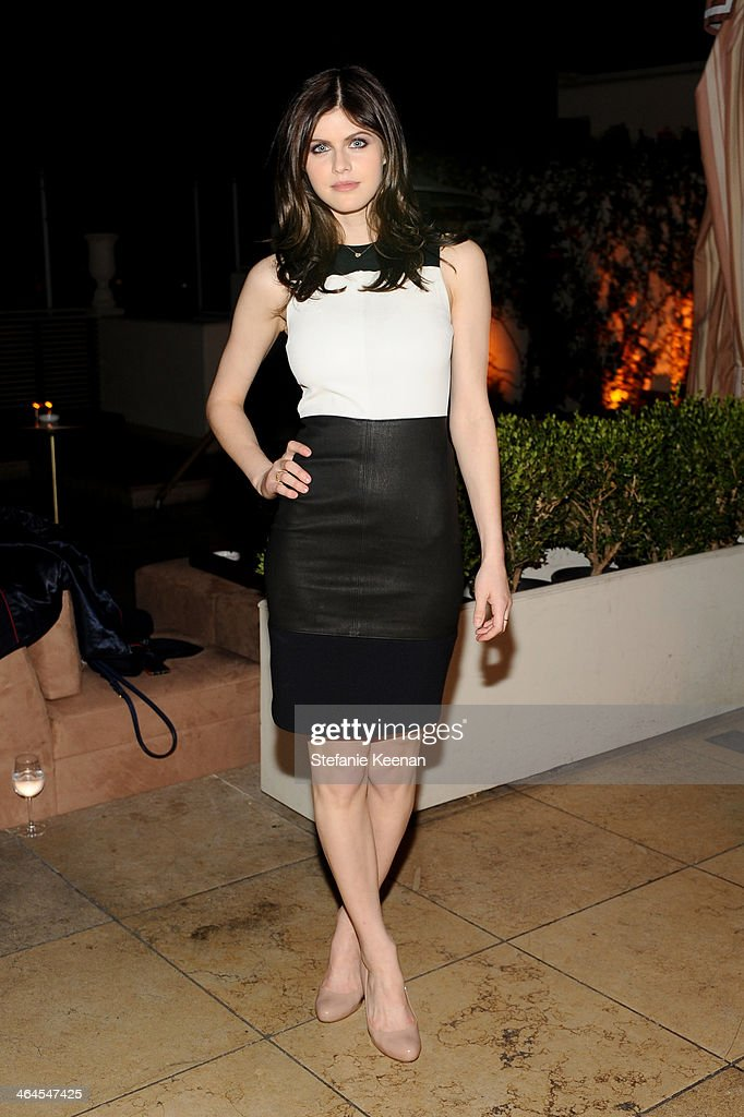 Actress Alexandra Daddario attends ELLE's Annual Women in Television Celebration on January 22, 2014 in West Hollywood, California.