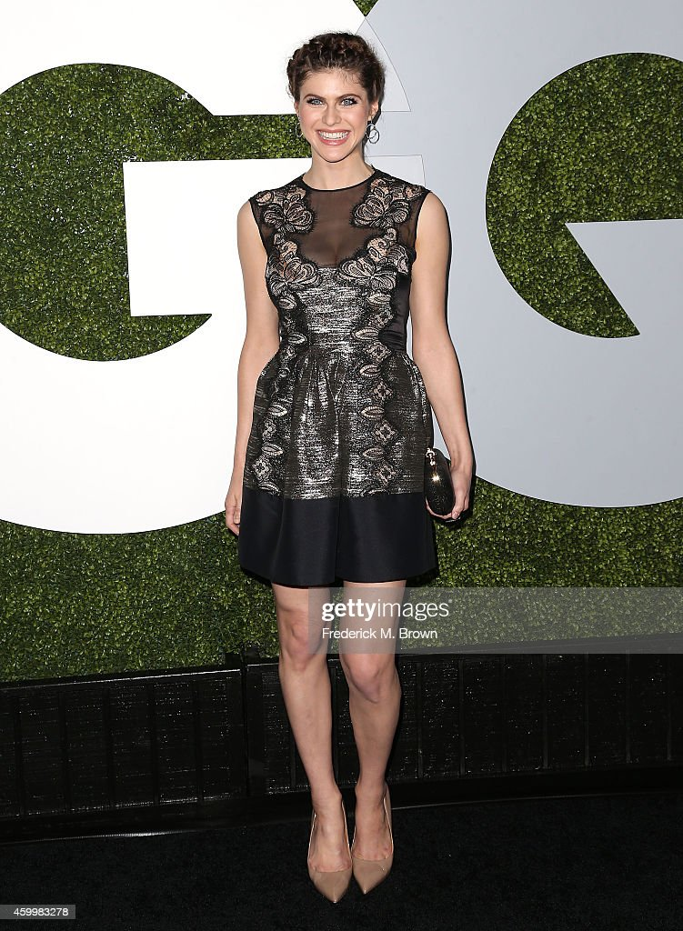 Actress Alexandra Daddario attends the 2014 GQ Men of the Year Party at Chateau Marmont's Bar Marmont on December 4 2014 in Hollywood California