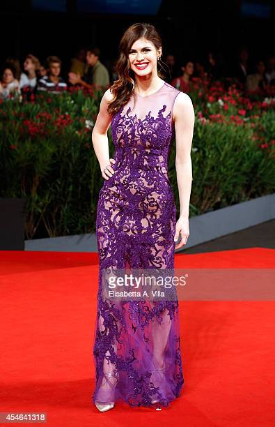 Actress Alexandra Daddario attends the 'Burying The Ex' Premiere during the 71st Venice Film Festival on September 4 2014 in Venice Italy