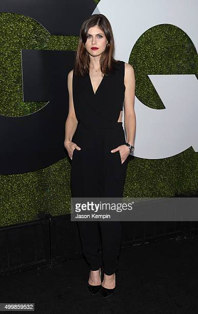 Actress Alexandra Daddario attends the GQ 20th Anniversary Men Of The Year Party at Chateau Marmont on December 3 2015 in Los Angeles California