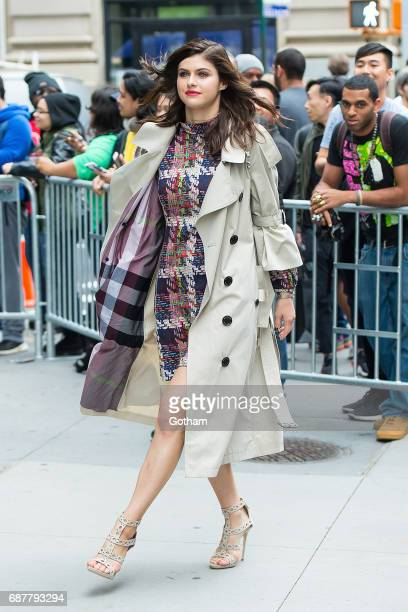 Actress Alexandra Daddario is seen in NoHo on May 24 2017 in New York City