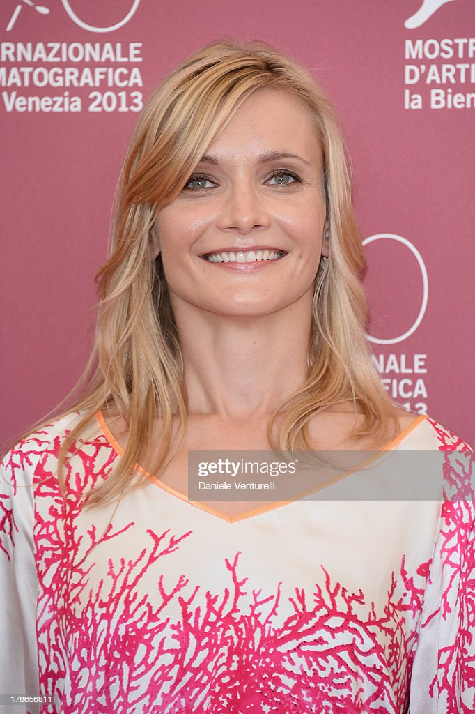 Actress Alexandra Finder attends 'Die Frau des Polizisten' Photocall during The 70th Venice International Film Festival at Palazzo del Casino on August 30, 2013 in Venice, Italy.