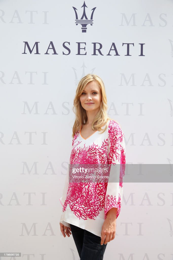 Actress Alexandra Finder attends the 70th Venice International Film Festival at Terrazza Maserati on August 30, 2013 in Venice, Italy.
