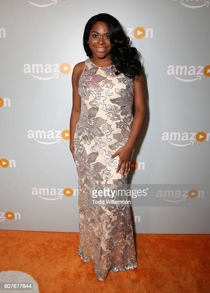 Actress Alexandra Grey attends Amazon's Emmy Celebration at Sunset Tower Hotel West Hollywood on September 18 2016 in West Hollywood California