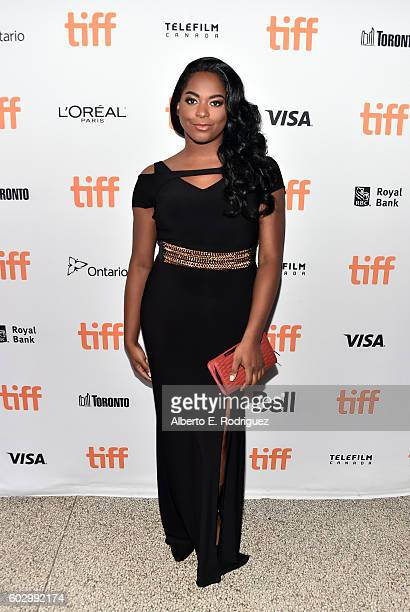 Actress Alexandra Grey attends the 'Transparent' Season 3 premiere during the 2016 Toronto International Film Festival at The Elgin on September 11...