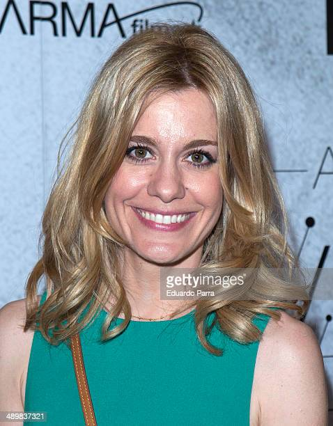 Actress Alexandra Jimenez attends 'Antonio Vega Tu voz entre otras mil' photocall premiere at Proyecciones cinema on May 12 2014 in Madrid Spain