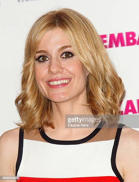Actress Alexandra Jimenez attends 'Embarazados' photocall at Telefonica store on January 26 2016 in Madrid Spain