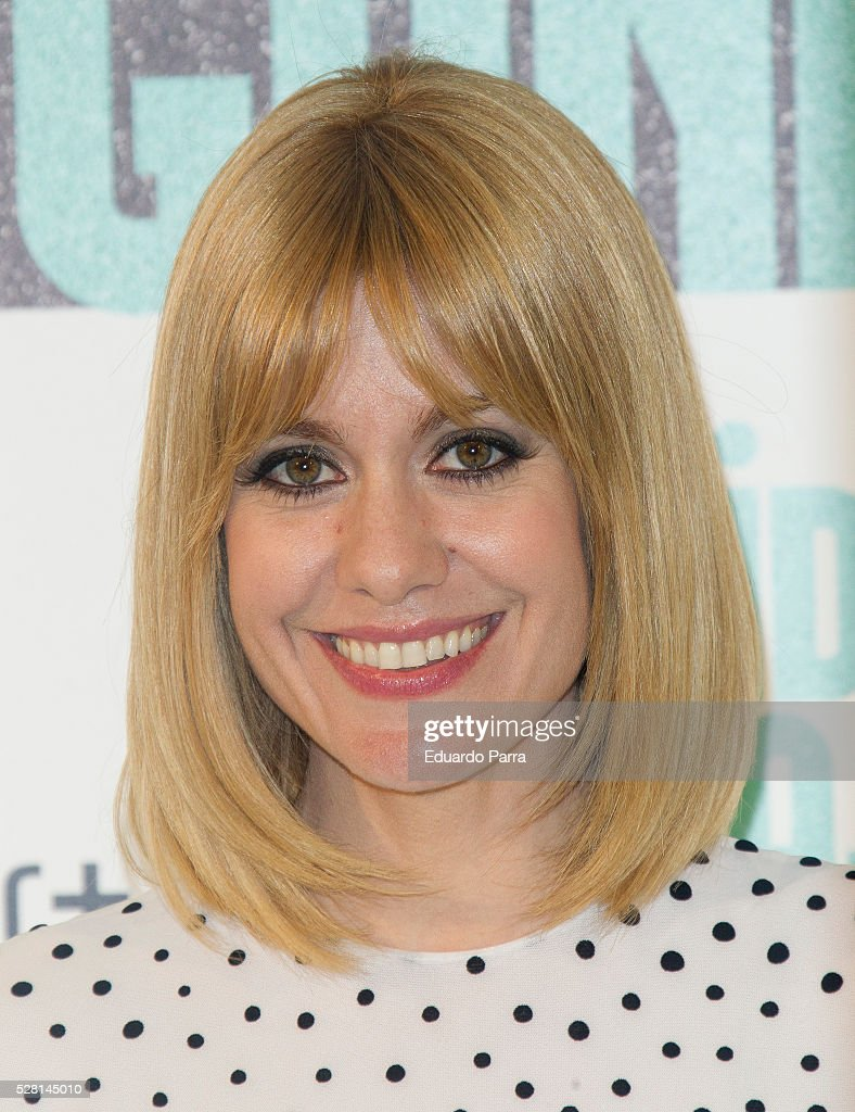Actress Alexandra Jimenez attends the 'Nacida para ganar' photocall at Eurobuilding hotel on May 04, 2016 in Madrid, Spain.
