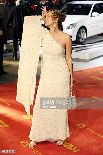 Actress Alexandra Kamp attends the Goldene Kamera 2010 Award at the Axel Springer Verlag on January 30 2010 in Berlin Germany