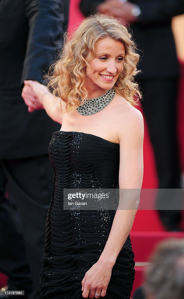 Actress Alexandra Lamy attends 'The Artist' premiere at the Palais des Festivals during the 64th Annual Cannes Film Festival on May 15, 2011 in Cannes, France.