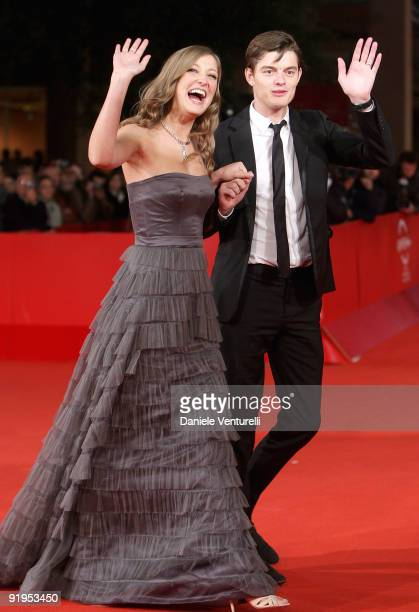 Actress Alexandra Maria Lara and actor Sam Riley attends 'The City Of Your Final Destination' Premiere during day 2 of the 4th Rome International...