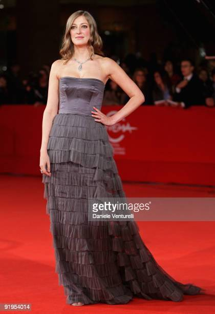 Actress Alexandra Maria Lara attends 'The City Of Your Final Destination' Premiere during day 2 of the 4th Rome International Film Festival held at...