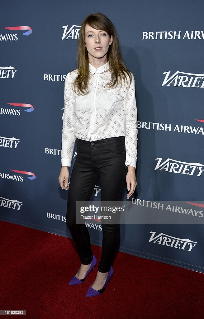 Actress Alexandra McGuinness attends British Airways and Variety Celebrate The Inaugural A380 Service Direct from Los Angeles to London and Discover Variety's 10 Brits to Watch on September 25, 2013 in Los Angeles, California.