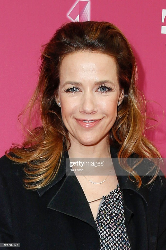 Actress <a gi-track='captionPersonalityLinkClicked' href=/galleries/search?phrase=Alexandra+Neldel&family=editorial&specificpeople=238855 ng-click='$event.stopPropagation()'>Alexandra Neldel</a> attends the Telekom Entertain TV Night at Hotel Zoo on April 28, 2016 in Berlin, Germany.