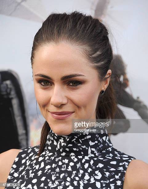 Actress Alexandra Park arrives at the Los Angeles premiere of 'San Andreas' at TCL Chinese Theatre IMAX on May 26 2015 in Hollywood California