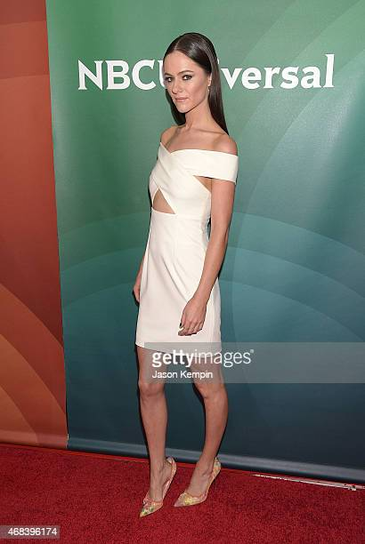 Actress Alexandra Park attends the 2015 NBCUniversal Summer Press Day at the Langham Hotel on April 2 2015 in Pasadena California