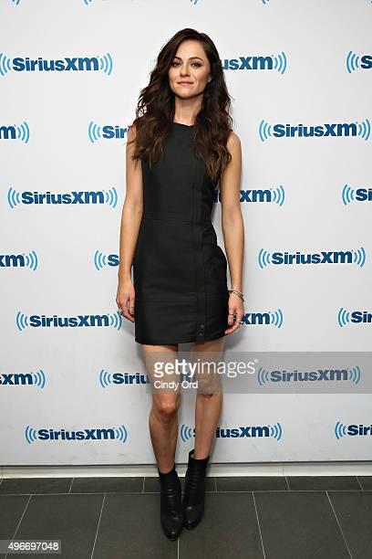 Actress Alexandra Park visits the SiriusXM Studios on November 11 2015 in New York City