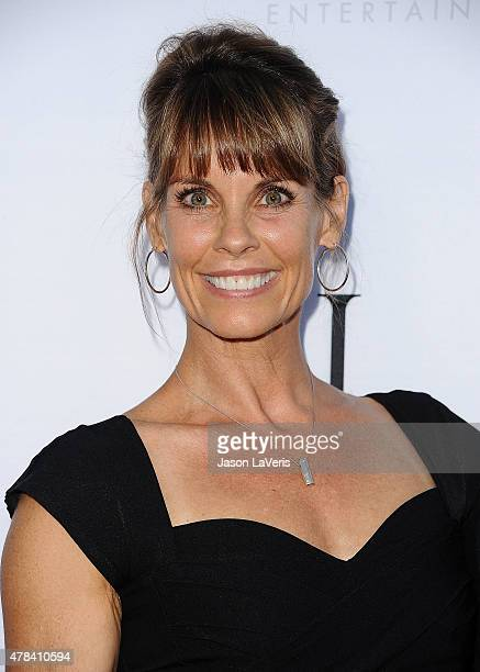 Actress Alexandra Paul attends the world premiere screening of 'Unity' at DGA Theater on June 24 2015 in Los Angeles California