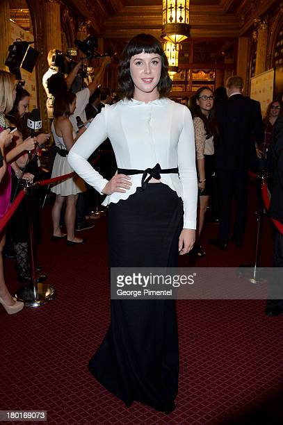 Actress Alexandra Roach arrives at the 'One Chance' Premiere during the 2013 Toronto International Film Festival at Winter Garden Theatre on...